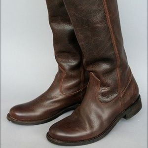Dolce Vita Lujan leather riding boots, size 6.